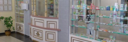Аптека в г. Брест дизайн и производство Трейд-Лайн-Дизайн